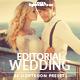 Editorial Wedding Lightroom Presets