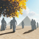 Egyptian Pyramids and People - VideoHive Item for Sale