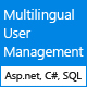 Multilingual User Management