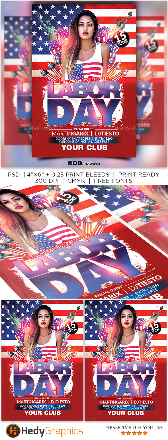 Labor Day Party - Clubs & Parties Events