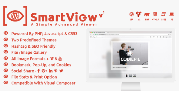 SmartView WordPress (WordPress) SmartView WordPress (WordPress) smartview wordpress preview image
