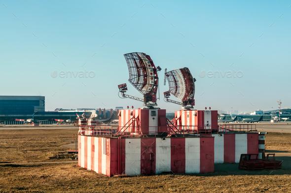 Radar in airport and air traffic control