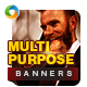 Multipurpose Animated GIF Banners