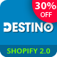 Destino - Responsive Multipurpose Sections Drag & Drop Builder Shopify Theme - ThemeForest Item for Sale