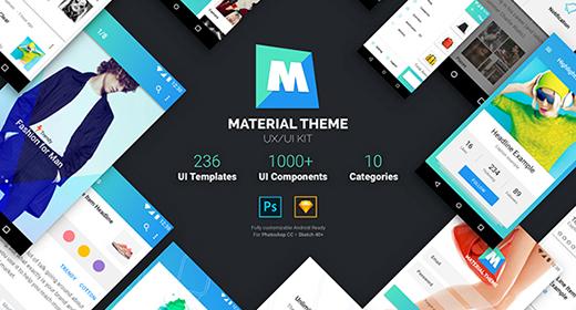 Mobile UIUX Kit