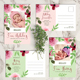 Baby Announcement Postcard II - GraphicRiver Item for Sale