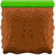 Mud and Grass Game Tiles Pack Suitable for Endless Runner Games - GraphicRiver Item for Sale