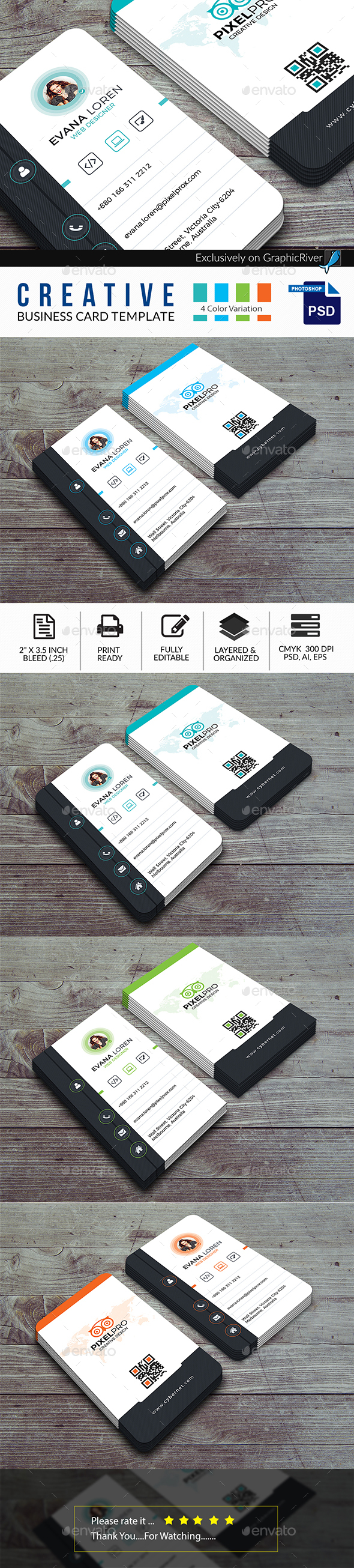 Business card print template by colorsstudio graphicriver business card print template business cards print templates magicingreecefo Gallery