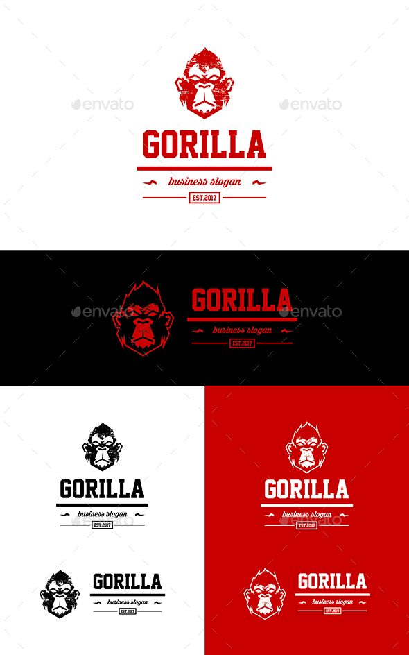 GraphicRiver Gorilla 20505849