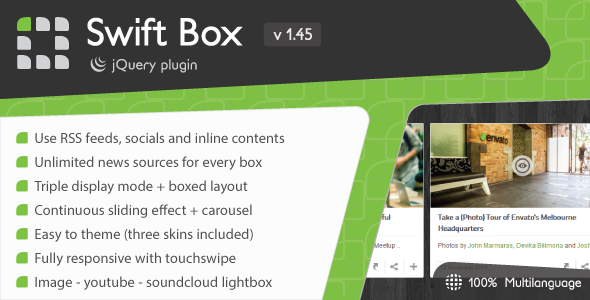 Swift Box - jQuery News Slider and Viewer - CodeCanyon Item for Sale