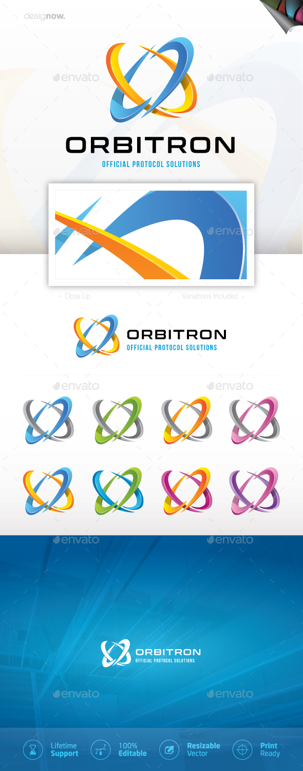 GraphicRiver Orbitron Logo 20506460