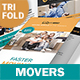 Moving Service Trifold Brochure 2 - GraphicRiver Item for Sale