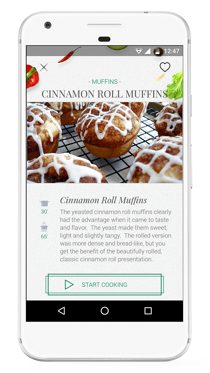 Foodie best recipes android app by iblinfotech codecanyon for Cuisine 3d android