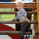 One year old baby boy toddler at playground - PhotoDune Item for Sale