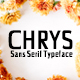 Chrys Sans Serif Typeface - GraphicRiver Item for Sale
