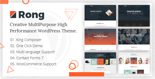 rong - multipurpose creative wordpress theme (creative) Rong – MultiPurpose Creative WordPress Theme (Creative) rong preview