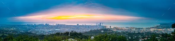 Batumi, Adjara, Georgia. Panorama, Aerial View Of Urban Cityscap - Stock Photo - Images