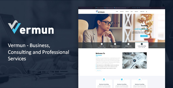 Vermun | Consulting, Business, Finance Template