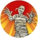 Egyptian Mummy Walking Pop Art Avatar Character