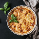 Baked quiche pie with greens - PhotoDune Item for Sale