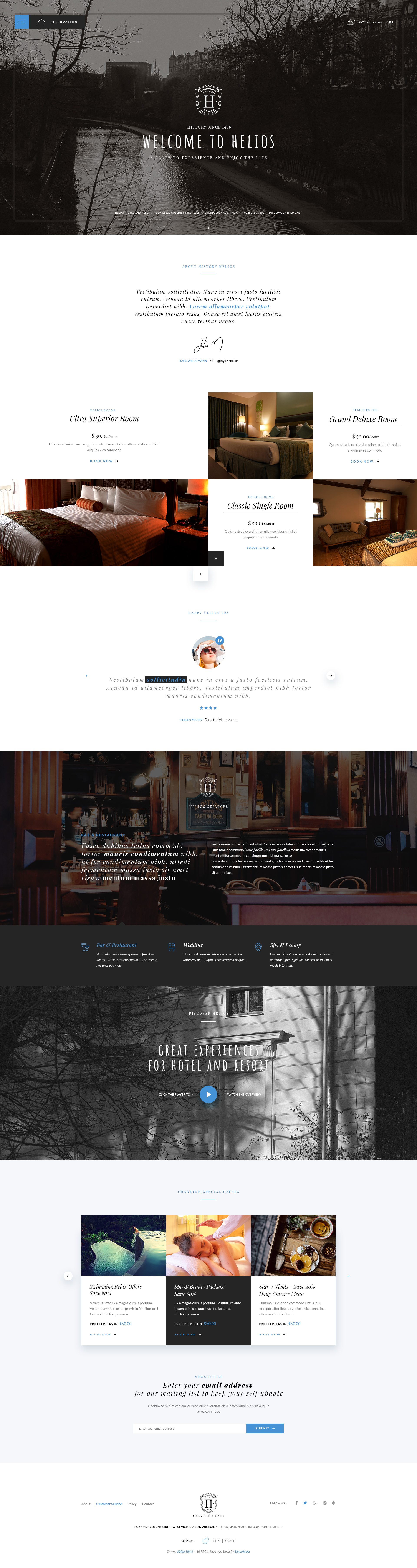 HELIOS - Multipurpose Hotel & Resort PSD Template by moontheme ...