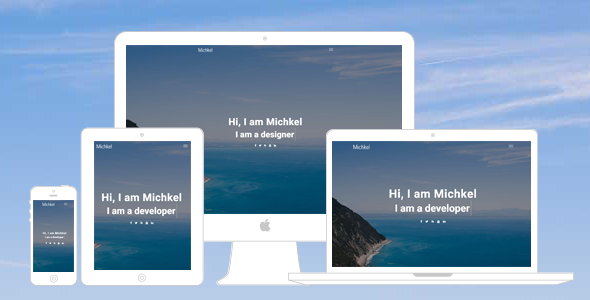 Michkel – Creative Portfolio WordPress Theme