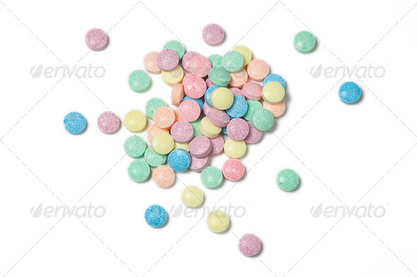 colorful candies - Stock Photo - Images