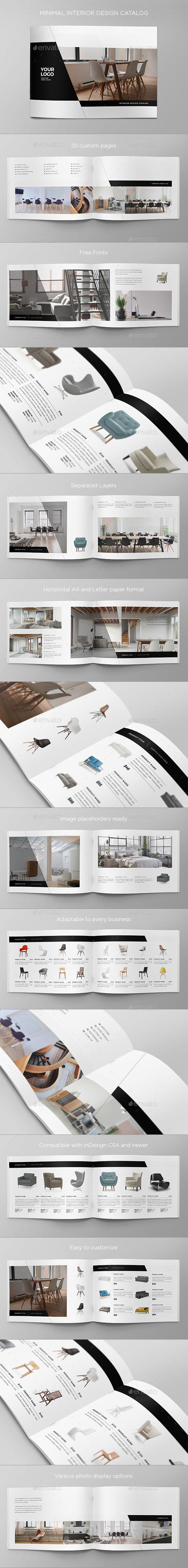 Minimal Interior Design Catalog - Catalogs Brochures