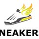 Shoes Sneakers , Shoes store logo template