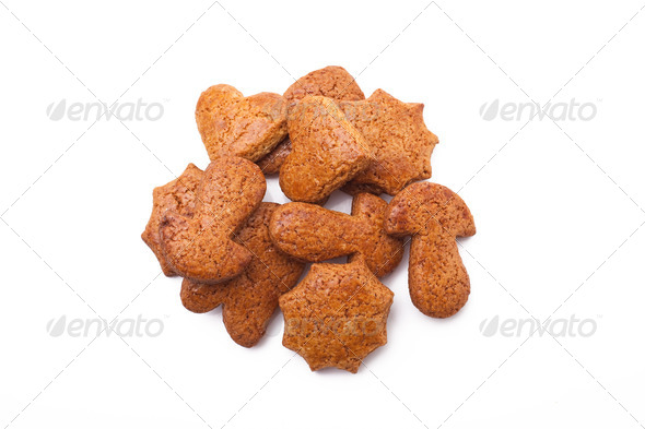 sweet gingerbreads - Stock Photo - Images
