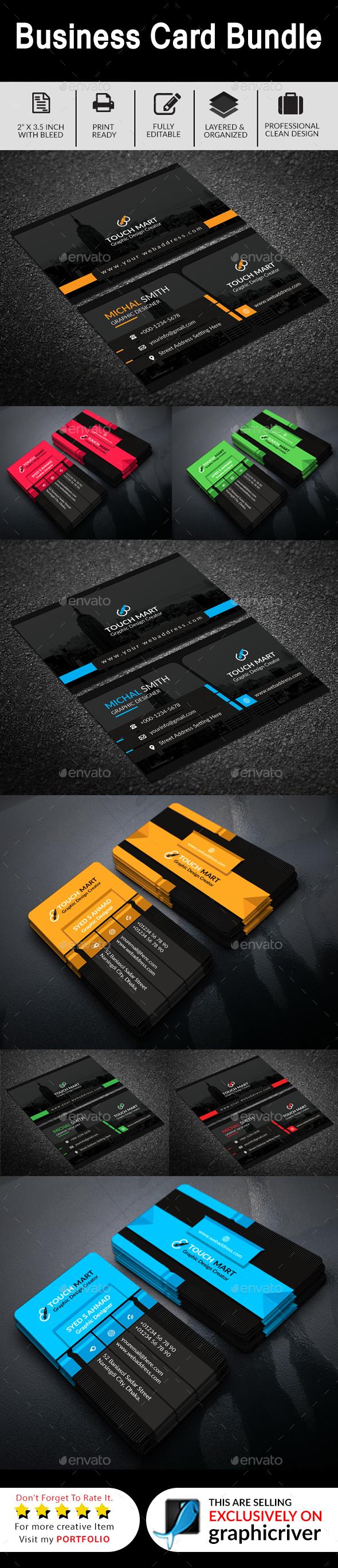 GraphicRiver Business Card Bundle 01 20507811
