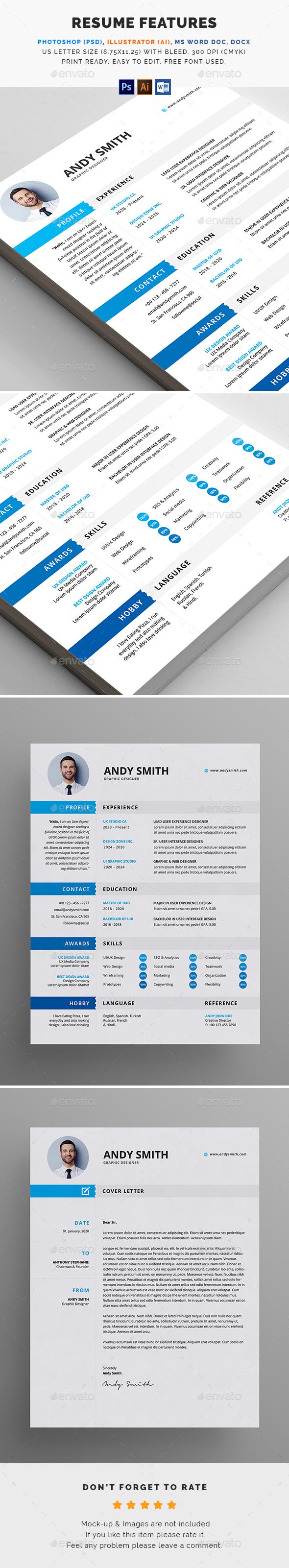 GraphicRiver Resume 20507839
