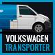Volkswagen Transporter 2017 Delivery Mock-Up