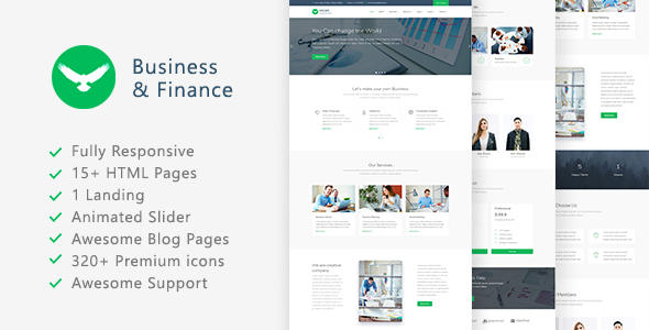 Proff - Business and Finance Template - Business Corporate