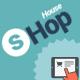 Shop House Commerce PSD Template