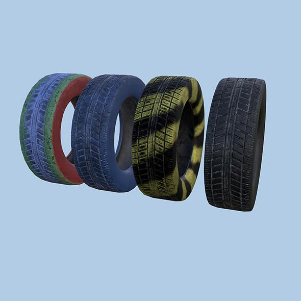 3DOcean Tire 20508153