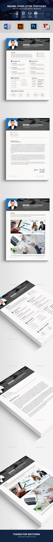 GraphicRiver CV Resume 20508170
