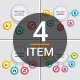 Simple Modern Circle Infographics - GraphicRiver Item for Sale