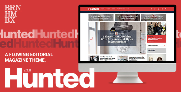 Hunted - A Flowing Editorial Magazine Theme