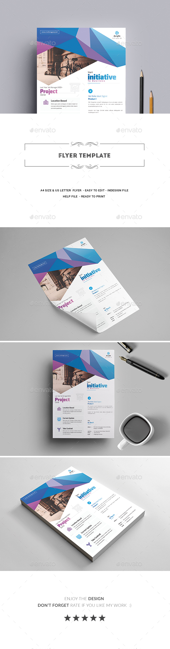 GraphicRiver Flyer Template 20508312