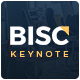 Bisc - Professional Pitch Deck Keynote Template