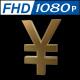 Yen Golden Symbol