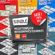 Bundle 10 in 1 Mega Infographic Elements