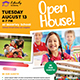 School Open House Flyer - GraphicRiver Item for Sale