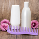 Hair beauty products and comb with roses - PhotoDune Item for Sale