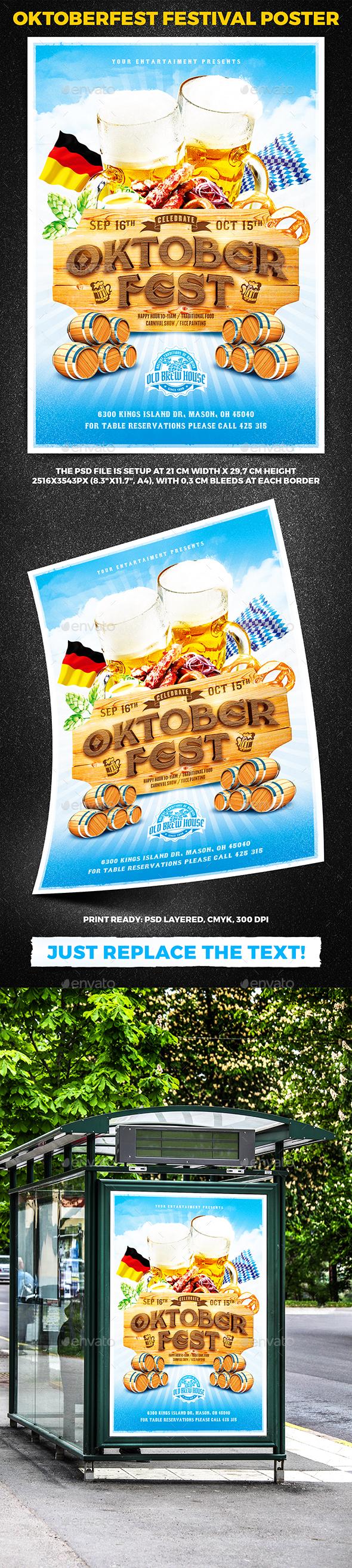 Oktoberfest Festival Poster vol.8