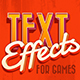 Text Effects For Games 3 - GraphicRiver Item for Sale
