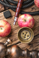 Tobacco hookah on apple tobacco