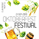 Oktoberfest Festival - GraphicRiver Item for Sale