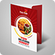 Fast Food Presentation Folder - GraphicRiver Item for Sale